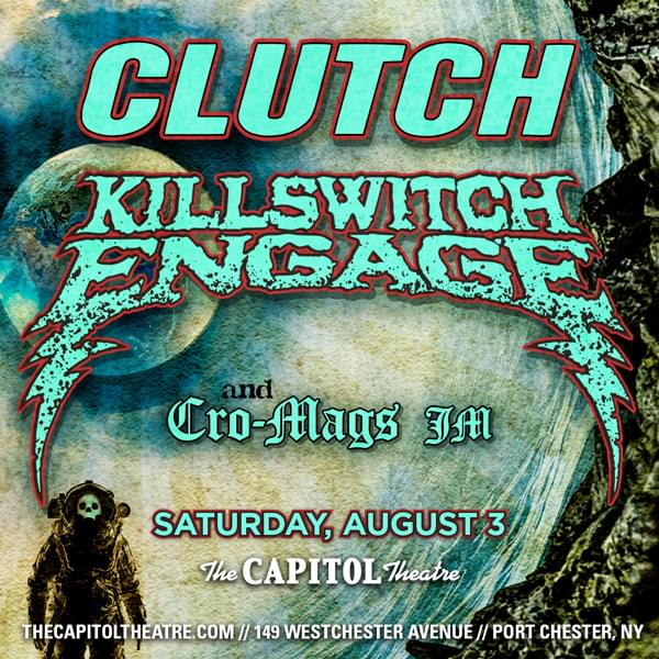 Enter to win: Killswitch Engage and Clutch
