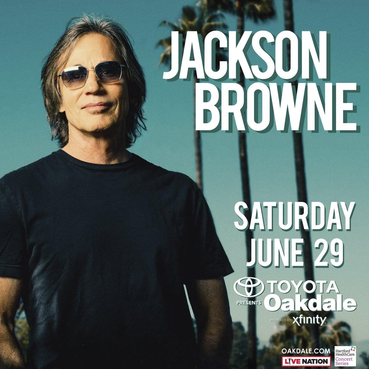 Win tickets to Jackson Browne