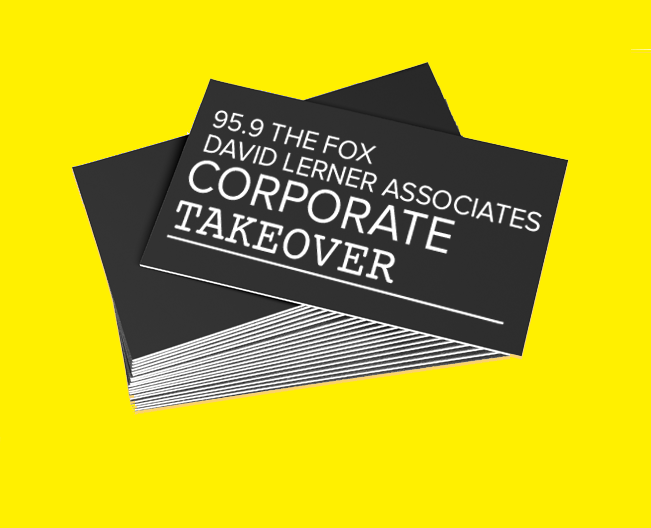 95.9 The Fox David Lerner Associates Corporate Takeover