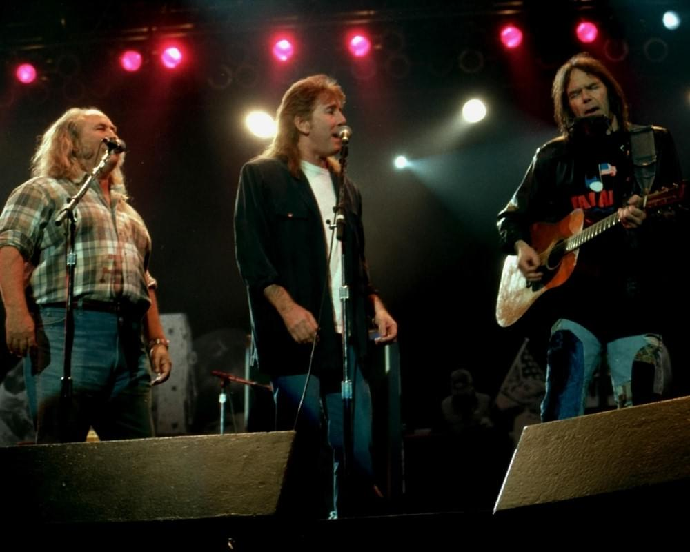 CSNY Release Their Most Iconic Protest Song