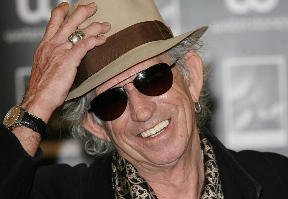 "Keith Richards Writes ""Satisfaction"" In His Sleep"