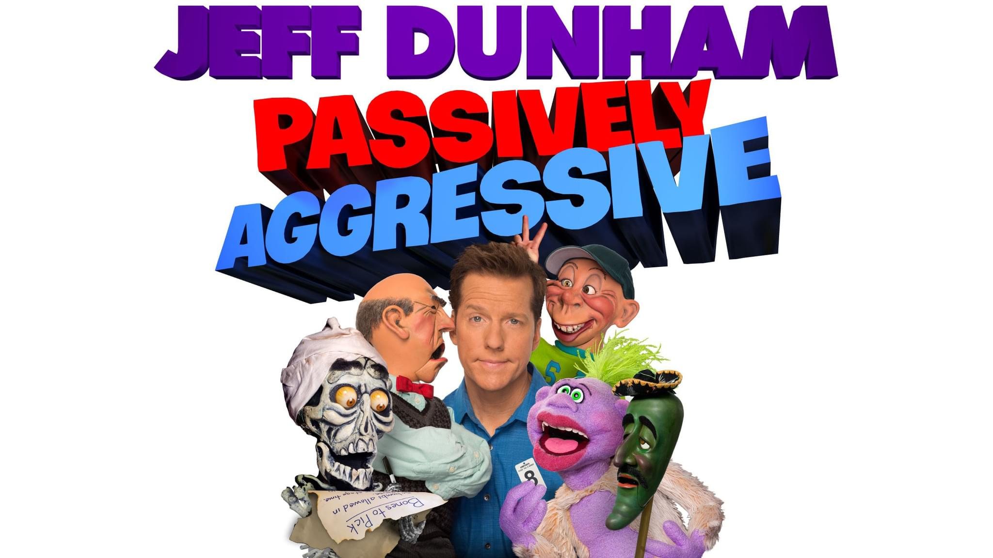 Jeff Dunham: Passively Aggressive at Webster Bank Arena