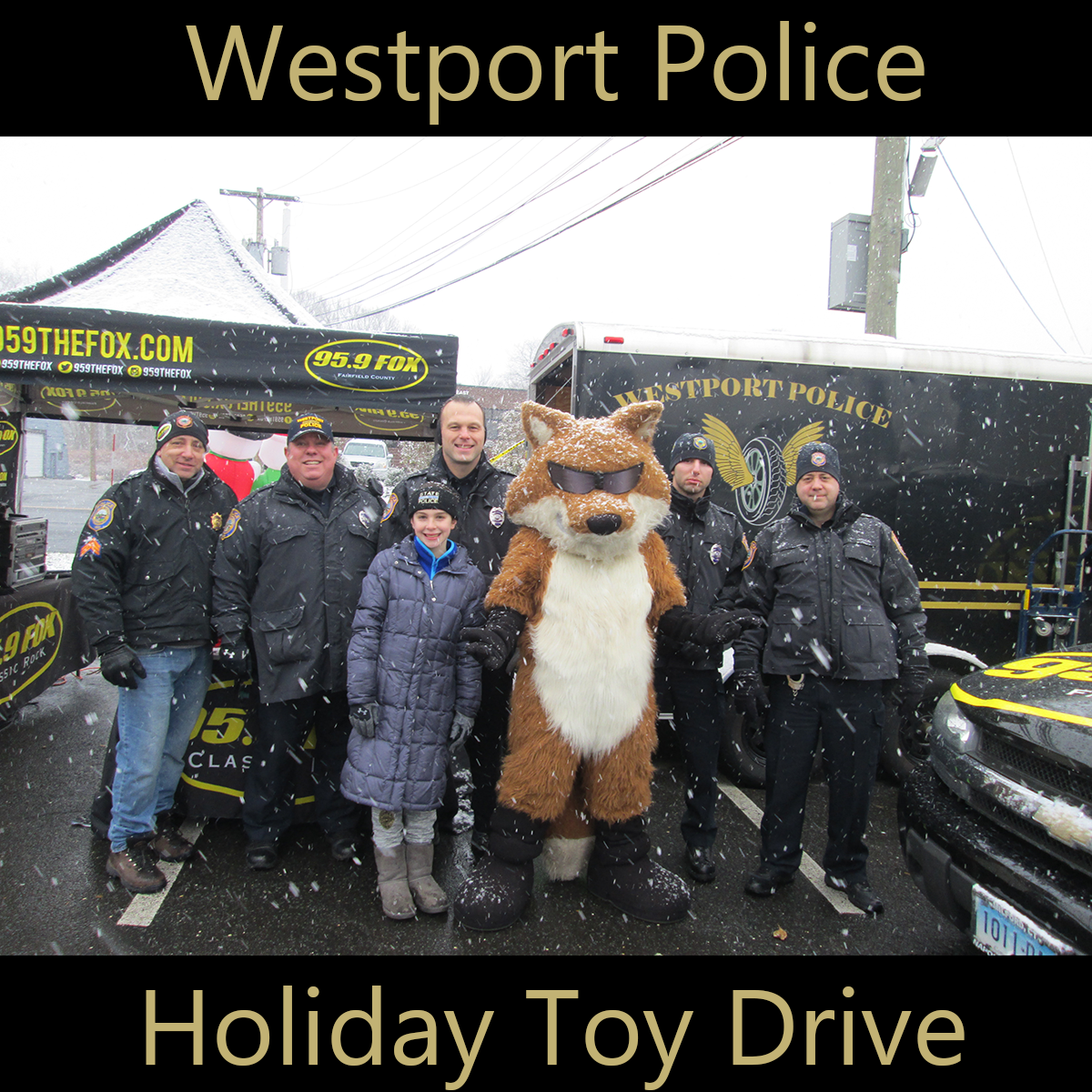 Westport Police Holiday Toy Drive