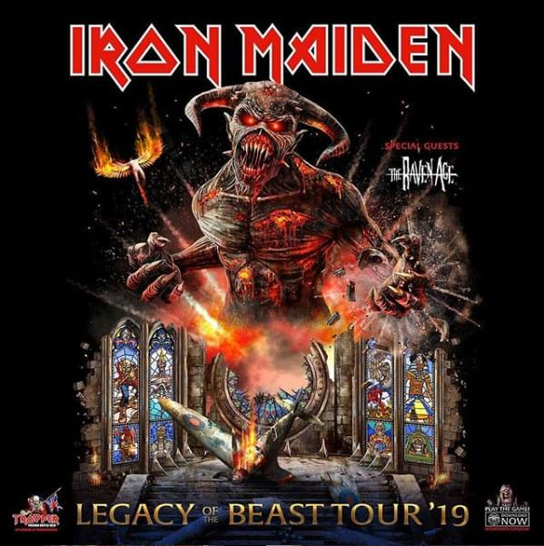 Enter to win a pair of tickets to Iron Maiden Legacy of the Beast Tour