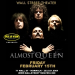 Almost Queen at the Wall Street Theater