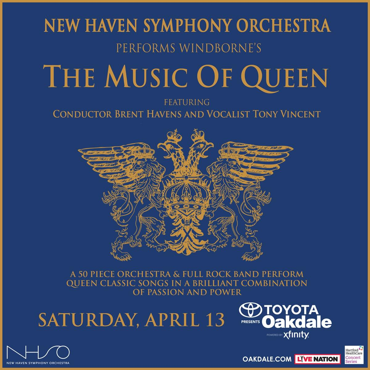 Enter to win tickets to The Music of Queen performed by the New Haven Symphony Orchestra