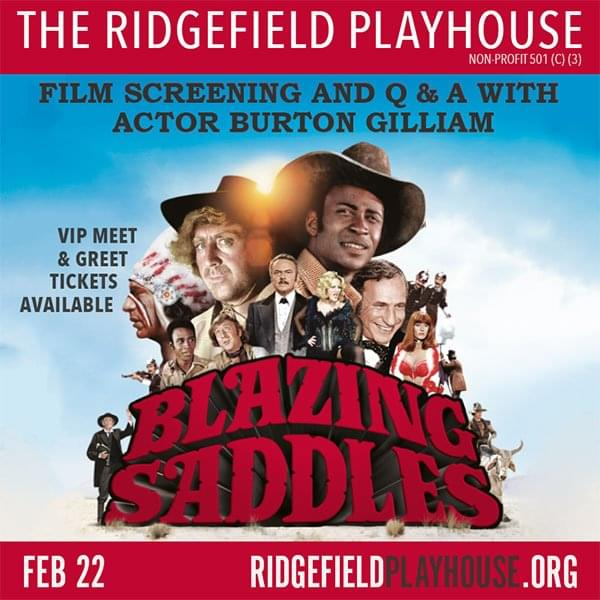 Enter to win tickets to Blazing Saddles at the Ridgefield Playhouse