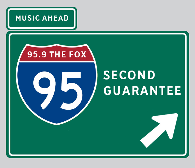 WATCH: 95.9 The FOX 95 Second Guarantee