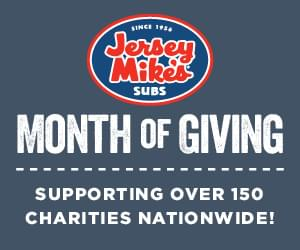 Spot the Fox at Jersey Mike's Month of Giving