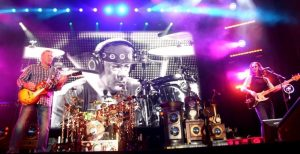 Rush in Concert at Charter One Pavilion in Chicago - August 23, 2010