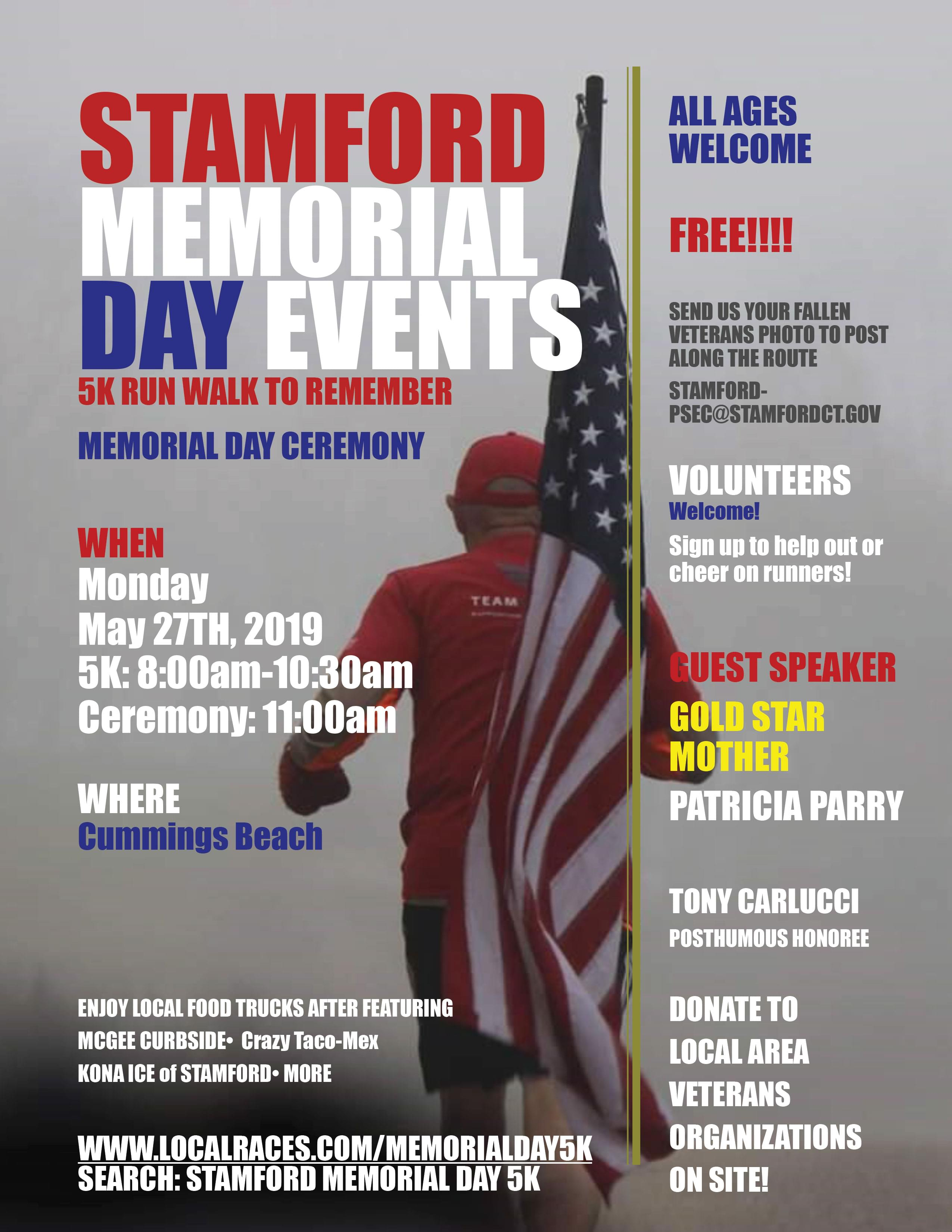 Stamford Memorial Day Events