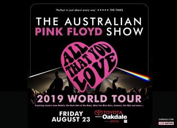 Enter to win a pair of tickets to Australian Pink Floyd