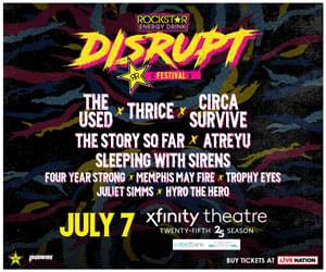 Enter to win tickets to the Disrupt Festival