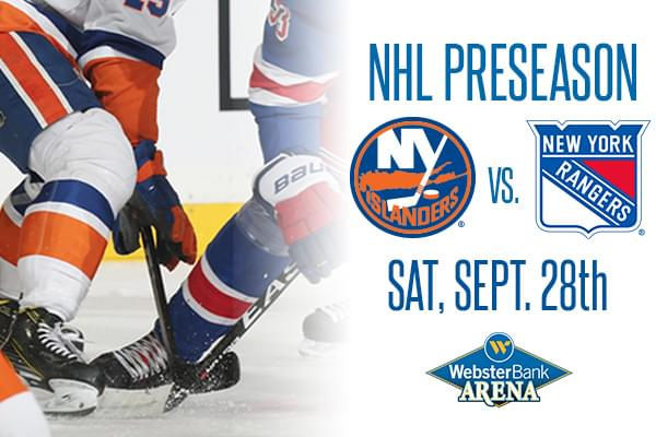 Win tickets to NY Islanders vs. NY Rangers