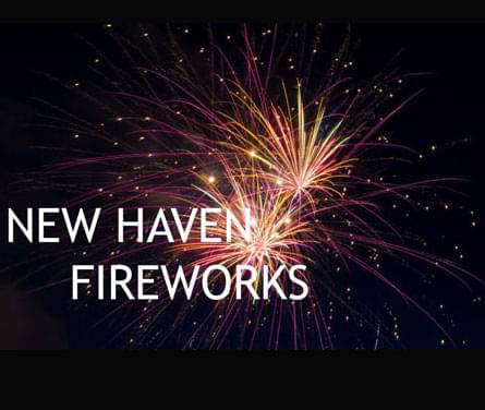 The City of New Haven Fireworks