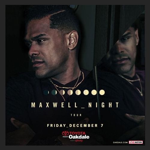 Maxwell at Toyota Oakdale Theatre