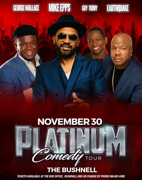 The Platinum Comedy Tour at The Bushnell