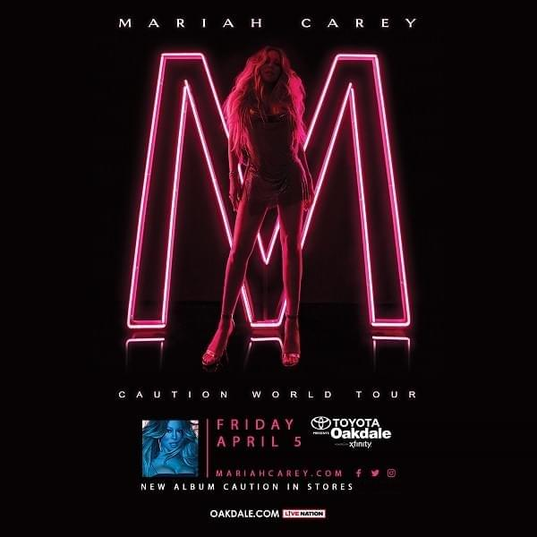 Mariah Carey at Toyota Oakdale Theatre