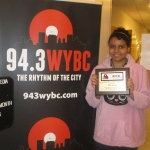 """WYBC """"I Rise"""" Student of the Month!"""