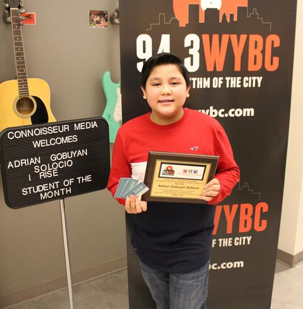 "WYBC ""I Rise"" Student of the Month: March 2019"