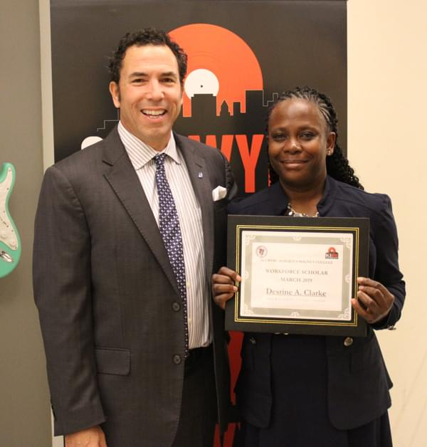 "WYBC Albertus Magnus College ""Workforce Scholar of the Month"""