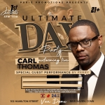 Enter to win: The Ultimate Day Party Experience feat. Carl Thomas