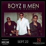 MGM Springfield presents Boyz II Men