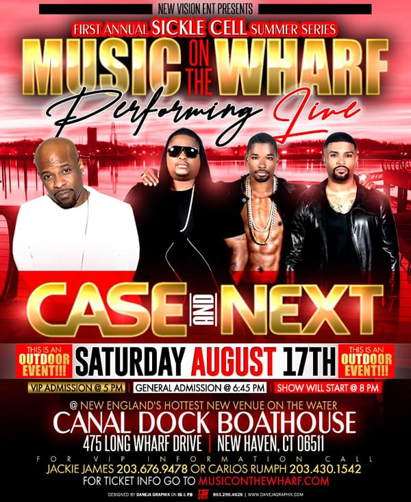 Enter to win: Music on the Wharf with Case and Next