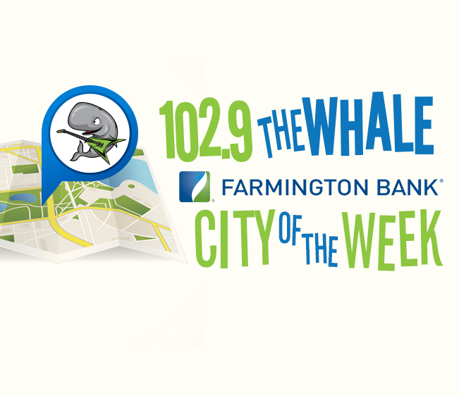 102.9 The Whale Farmington Bank City of the Week