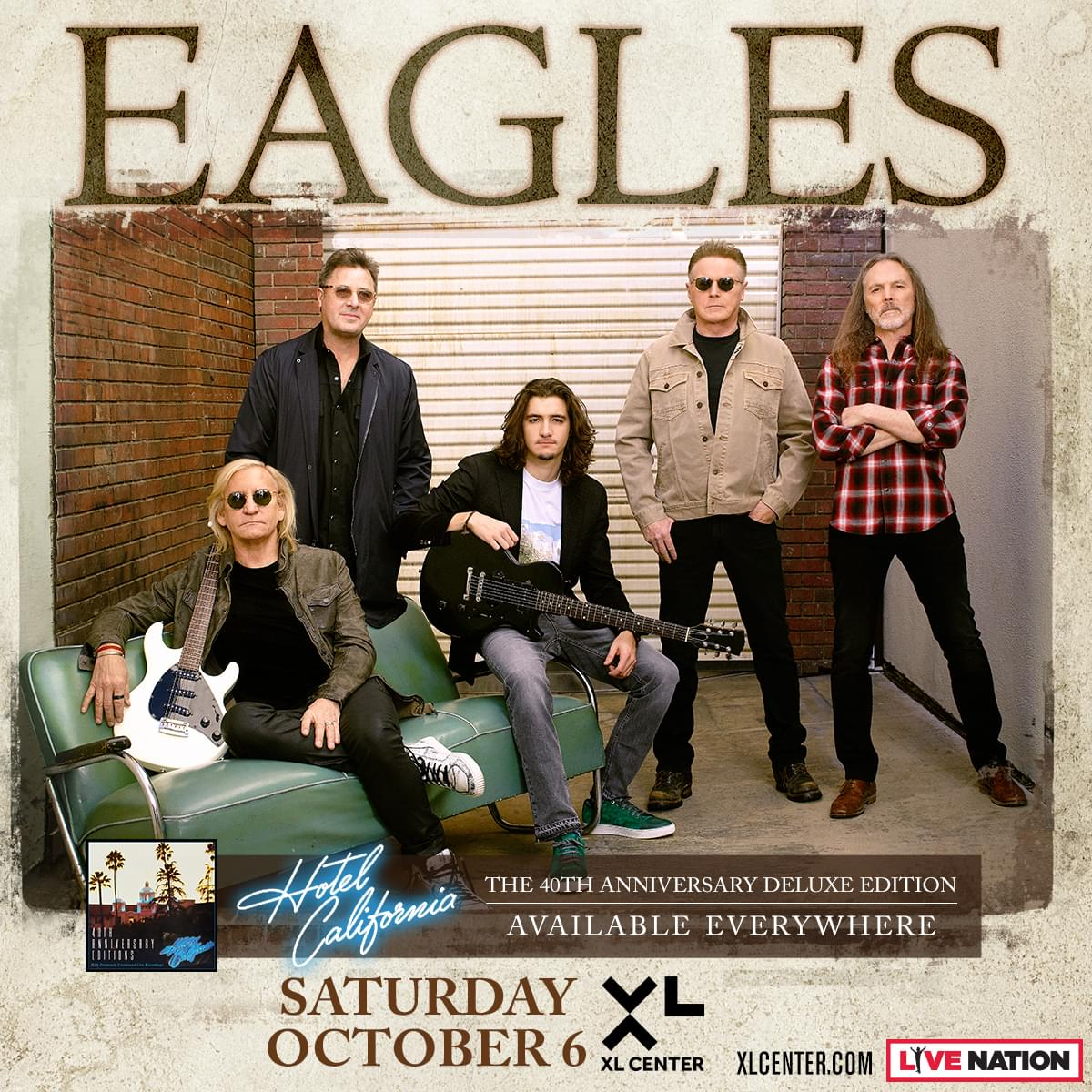 Win tickets to the Eagles