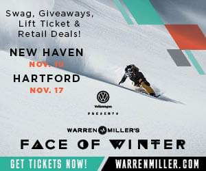 Win tickets to see Volkswagen presents Warren Miller Face of Winter at the Bushnell