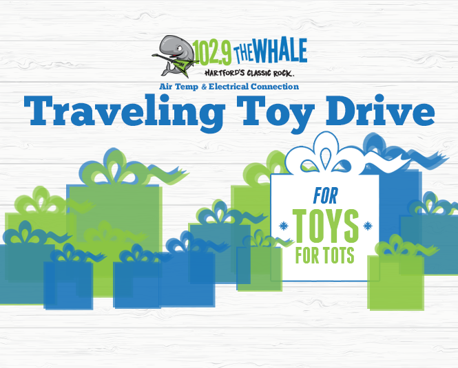 The 102.9 The Whale Traveling Toy Drive