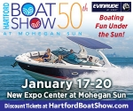 50th Annual Hartford Boat Show at Mohegan Sun