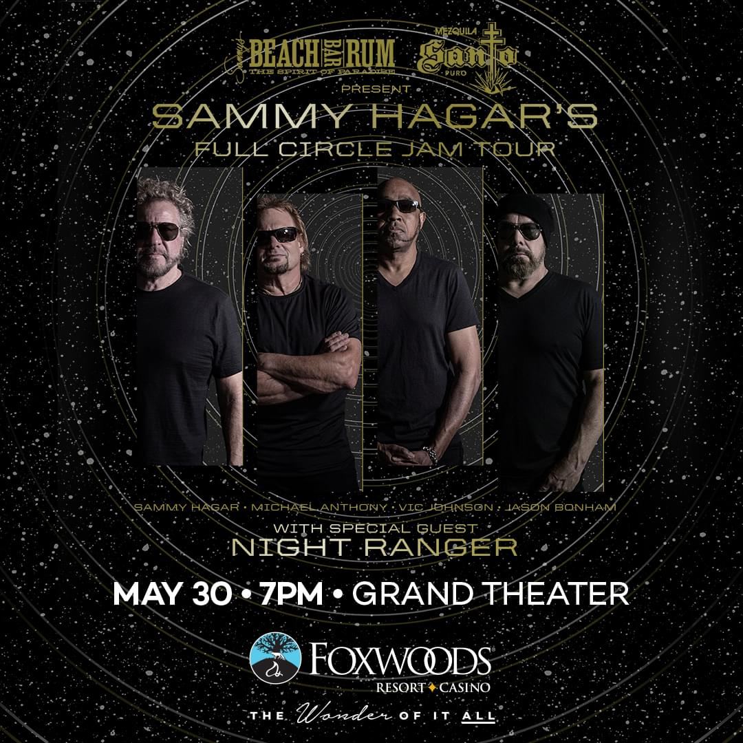 Win tickets to Sammy Hagar