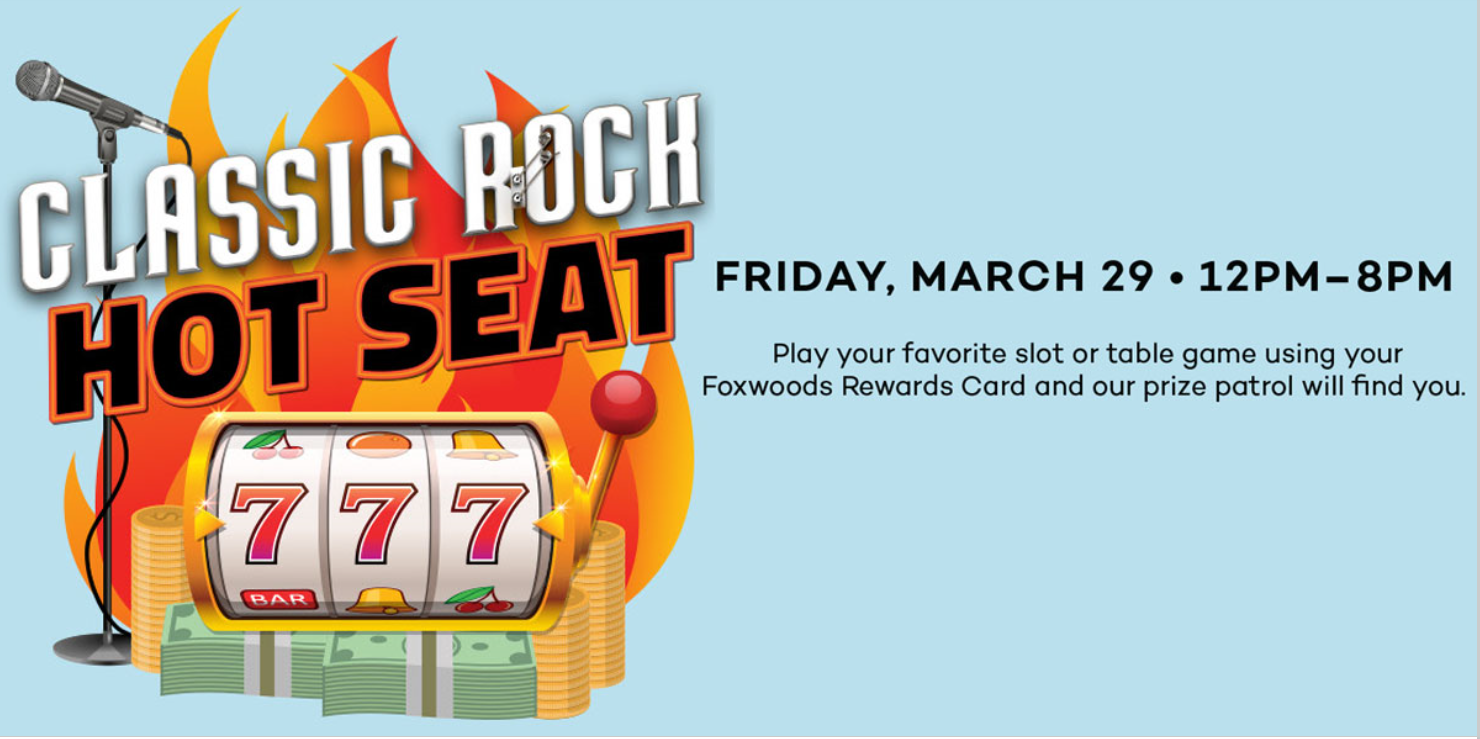 Join 102.9 The Whale at Foxwoods March 29th