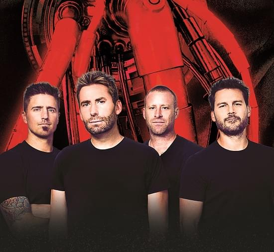 Win tickets to see Nickelback with special guest Fozzy