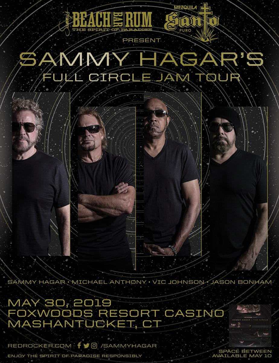 Win Tickets to see Sammy Hagar's Full Circle Jam Tour