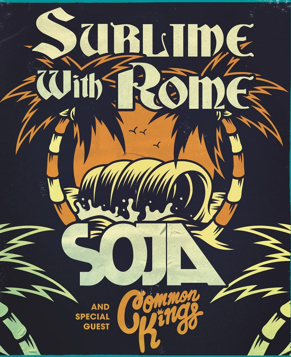 Win tickets to see Sublime with Rome, Soja and Special Guest Common Kings