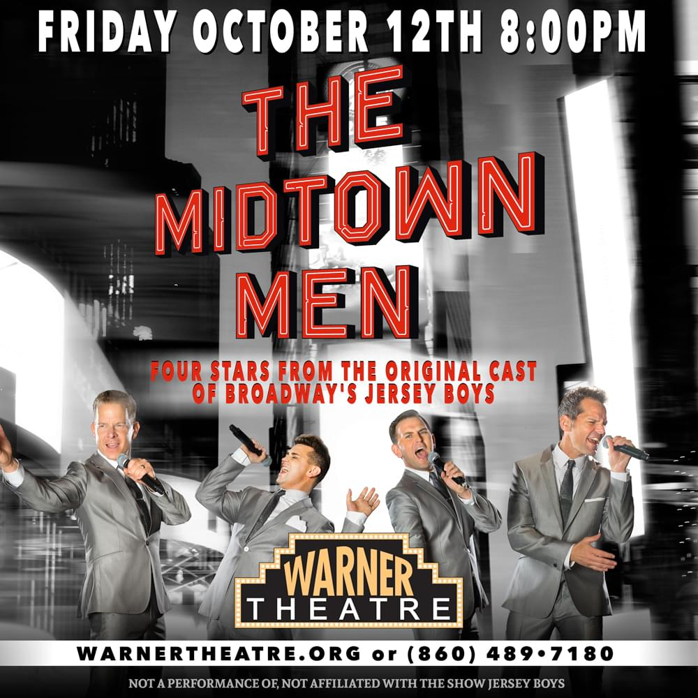 WIN TICKETS TO SEE THE MIDTOWN MEN AT THE WARNER THEATER