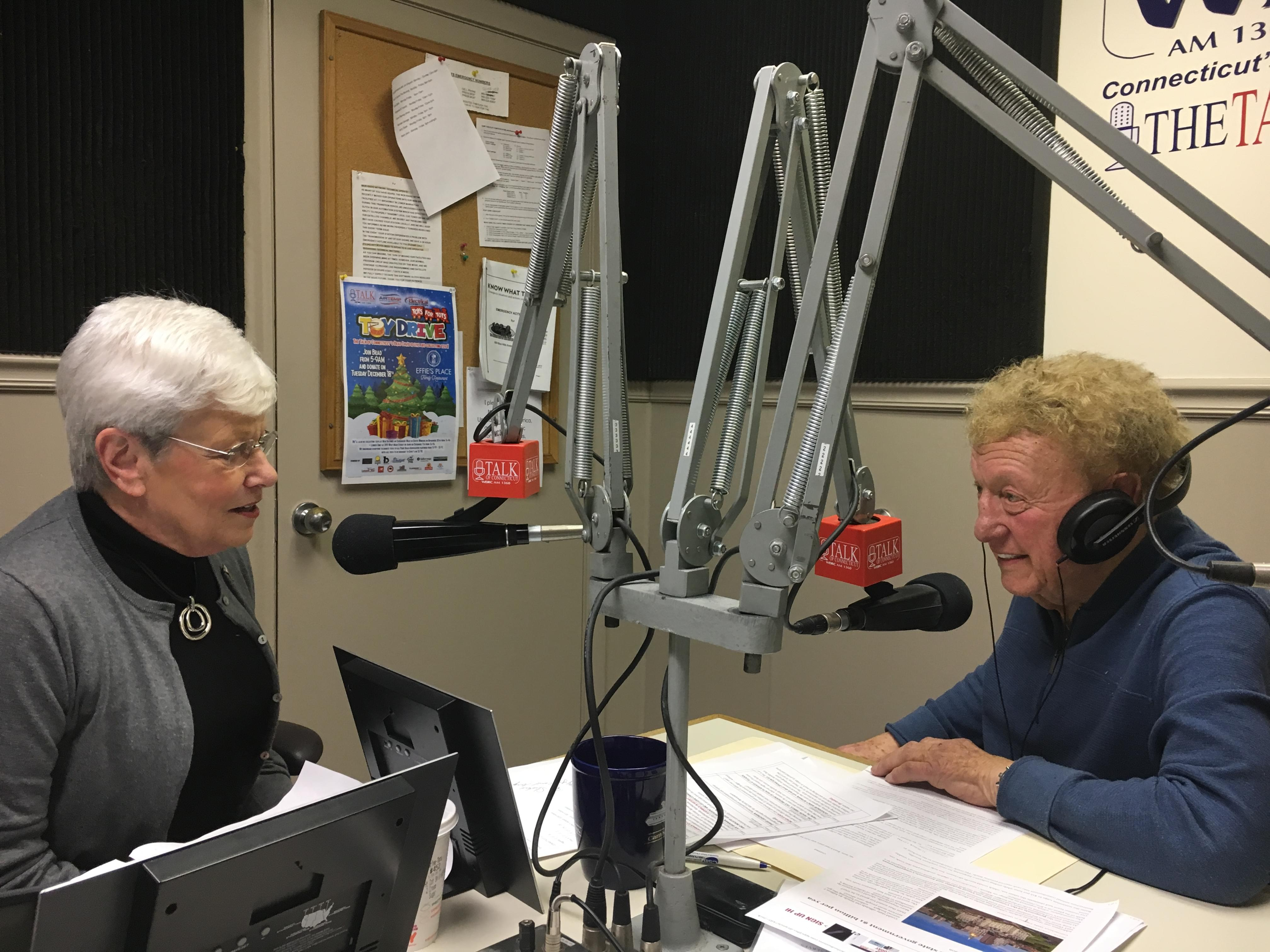 Lt. Governor Nancy Wyman and Kim Hoffman on The Brad Davis Show 12-3-18