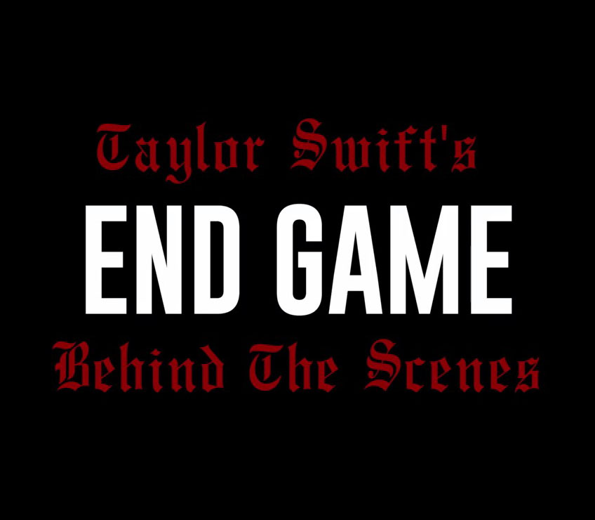 """Taylor Swift & Ed Sheeran Talk """"End Game"""" In Behind-The-Scenes Clip"""
