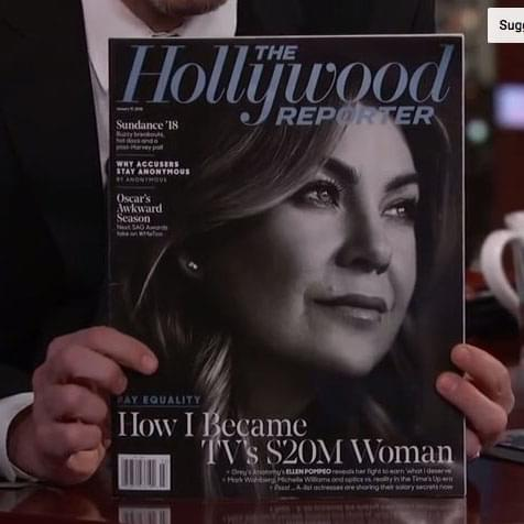 Ellen Pompeo: Here's Why I Decided To Share My Salary