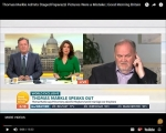 """Meghan Markle's Dad Flaps His Jaws On """"Good Morning Britain"""""""