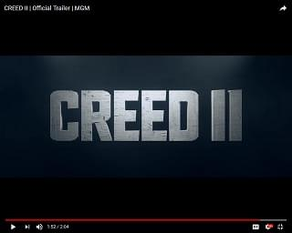 "Trailer Gives Us A Good Look At""Creed II"""