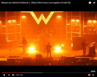 """Weezer Joined By Weird Al For """"Africa"""" Cover"""