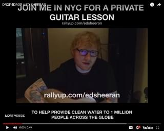 You Could Win Guitar Lessons From Ed Sheeran