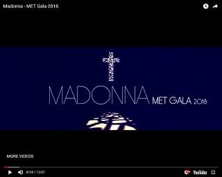 Madonna Shares Met Gala Performance For Her Birthday