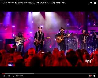 "Shawn Mendes & Zac Brown Band Team For ""Keep Me In Mind"""