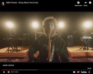 "Mike Posner Releases Live and Acoustic Versions Of Latest Single ""Song About You"""