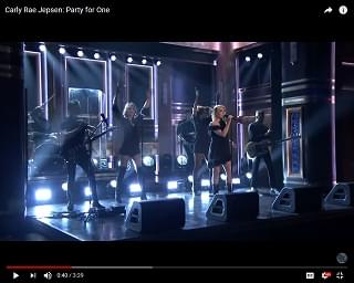 "Carly Rae Jepsen Performs New Song On ""Fallon"""